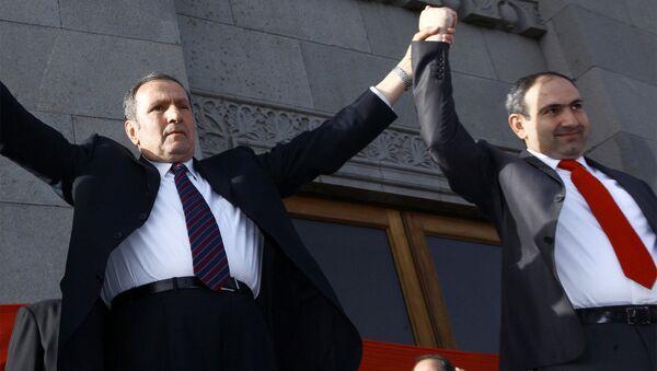 Митинг оппозиционного Армянского народного конгресса - Sputnik Армения