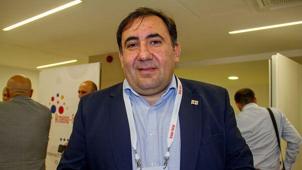 Глава ассоциации гостиниц и ресторанов Грузии Шалва Алавердашвили - Sputnik Армения