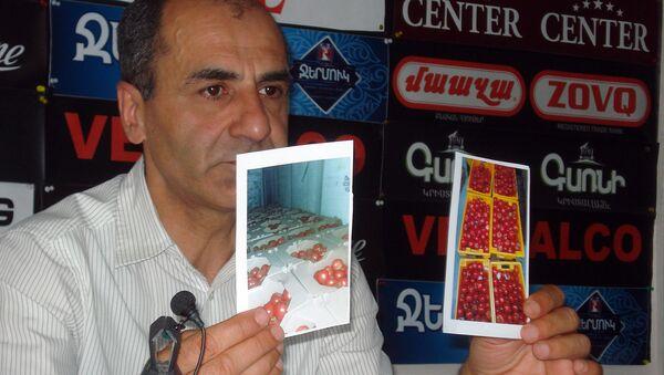Пресс-конференция Тиграна Залиняна (1 июля 2019). Еревaн - Sputnik Արմենիա