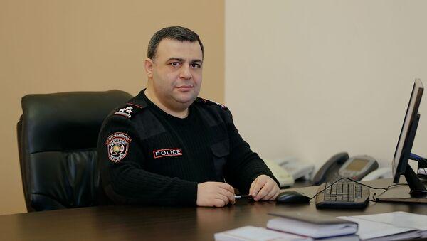 Заместитель началника полиции Ованнес Кочарян - Sputnik Արմենիա