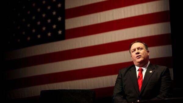 Майк Помпео во время выступления на Конференции Консервативного Политического Действия (CPAC) /2012 год/. Вашингтон, США - Sputnik Արմենիա