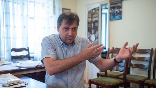 Художественный руководитель русского драмтеатра имени Станиславского Карен Нерсисян - Sputnik Армения