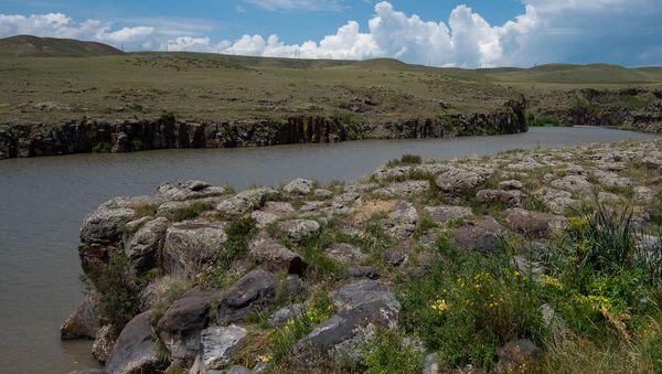 Река Ахурян у монастыря Мармашен - Sputnik Армения