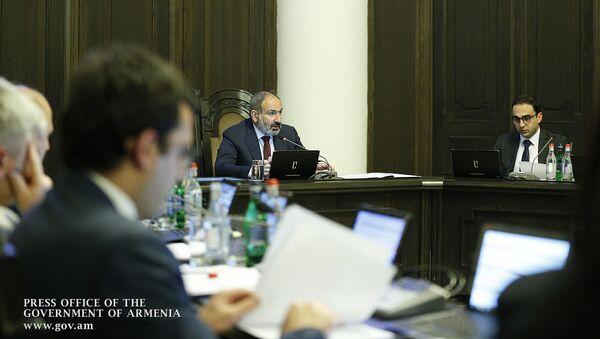 Внеочередное заседание правительства Армении (10 июля 2019). Еревaн - Sputnik Արմենիա