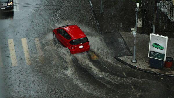 Сильный дождь в Ереване - Sputnik Արմենիա