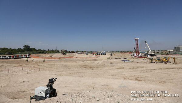 Площадка строительства новой ТЭЦ в Ереване - Sputnik Արմենիա