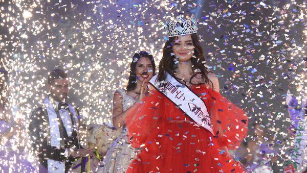 Победительница конкурса красоты Мисс мира - Армения 2019 Лиана Воскерчян - Sputnik Армения