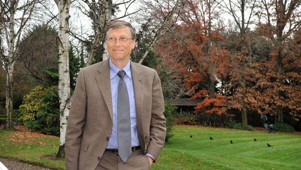 Председатель Microsoft и сопредседатель Фонда Билла и Мелинды Гейтс Билл Гейтс перед переговорами с премьер-министром Австралии Джулией Гиллард (28 мая 2013). Канберра - Sputnik Армения