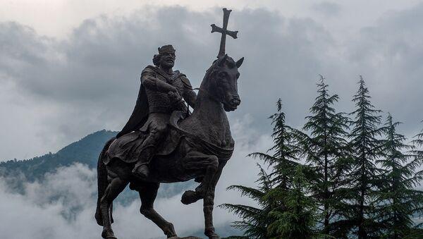 Памятник Ашоту Железному, Иджеван - Sputnik Արմենիա