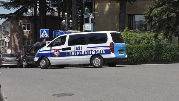 Полицейский автомобиль с Иджеване - Sputnik Армения