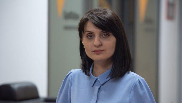 Министр труда и социальных вопросов Армении Заруи Батоян в гостях радио Sputnik - Sputnik Արմենիա