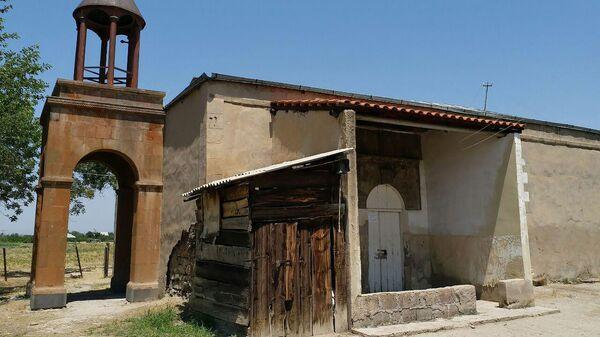 Ассирийская церковь Мат Мариам (Пресвятой Богоматери) в селе Димитров, Армения. - Sputnik Армения