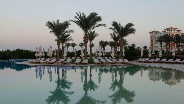 Территория гостиничного комплекса в Египте - Sputnik Армения