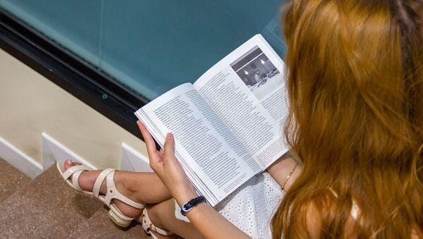 Гостья на презентации книги Фирдус: память места  - Sputnik Արմենիա