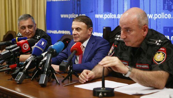 Пресс конференция Начальника полиции Валерия Осипяна - Sputnik Արմենիա
