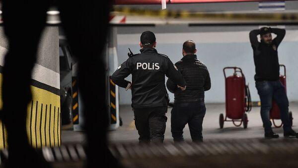 Турецкие полицейские. Архивное фото - Sputnik Армения