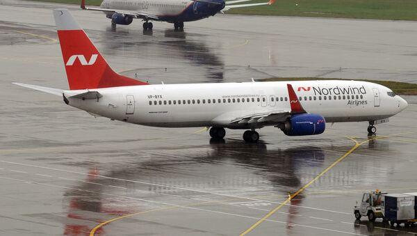 Самолет Boeing 737-8Q8 авиокомпании Nordwind в аэропорту Шереметьево - Sputnik Армения