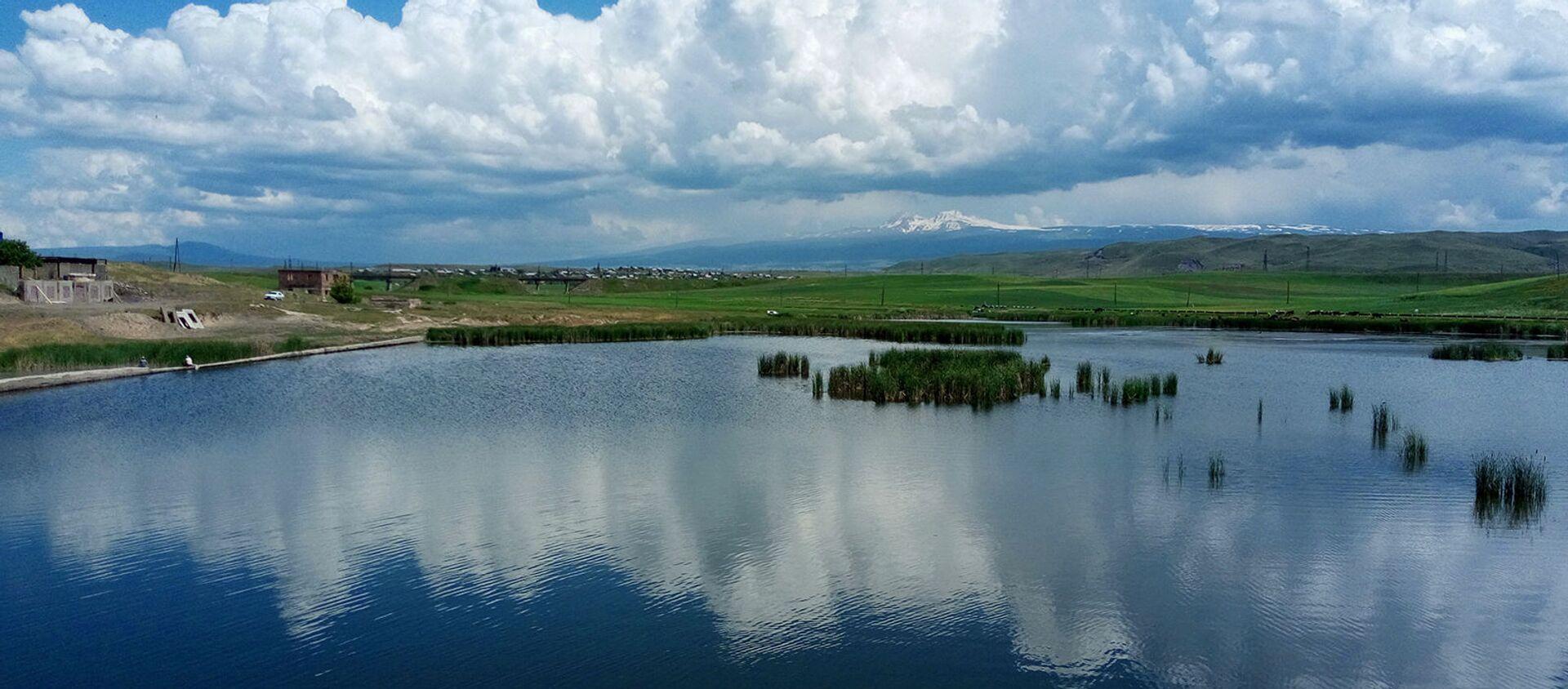 Ахурянское водохранилище - Sputnik Армения, 1920, 08.07.2021