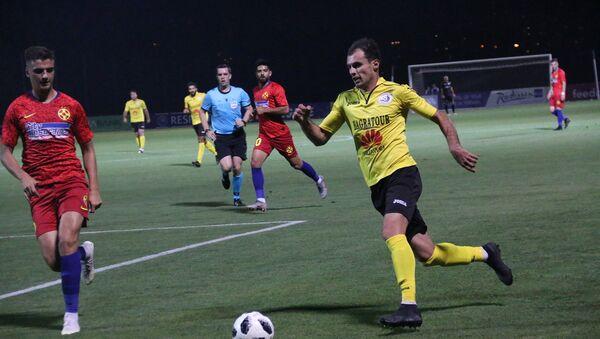Второй квалификационный матч Лиги Европы между командами Алашкерт - Стяуа (25 июля 2019). Еревaн - Sputnik Армения