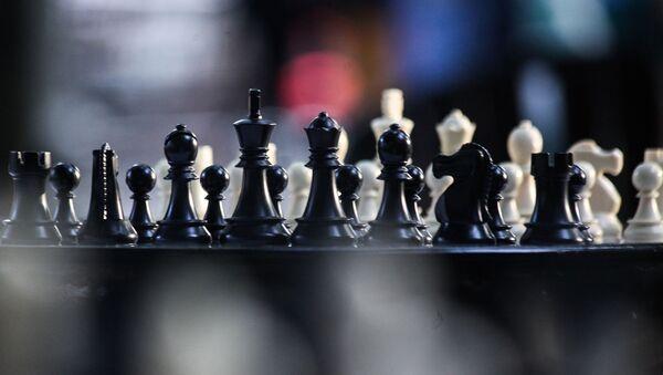 Фестиваль шахмат и джаза Chess & Jazz в саду «Эрмитаж» (26 июля 2019). Москвa - Sputnik Արմենիա