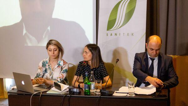 Он-лайн пресс-конференция «Санитек» - Sputnik Արմենիա