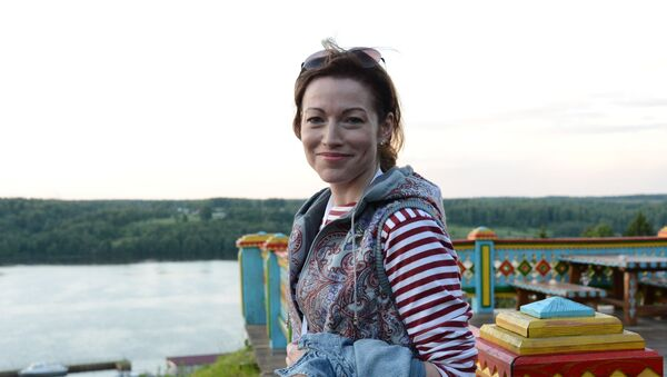 Актриса Алена Хмельницкая  - Sputnik Армения