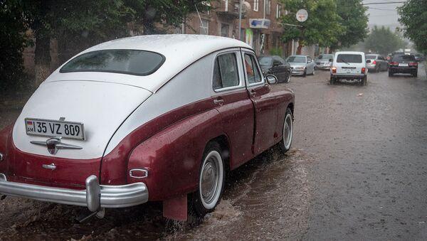 Дождь в городе Артик - Sputnik Армения