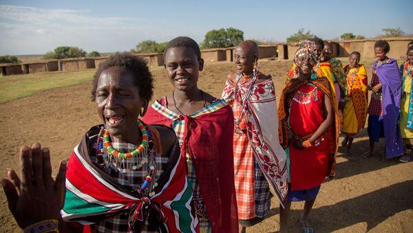 Деревня племени Масаи в Кении - Sputnik Արմենիա
