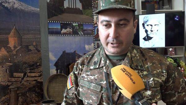 В рамках пятых Армейских международных игр (АрМИ-2019) открыт армянский павильон - Sputnik Армения