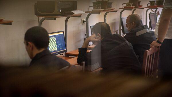 Заключенные в УИУ Армавир принимают участие в международном шахматном турнире среди заключенных (5 августа 2019). Армавирская область - Sputnik Արմենիա
