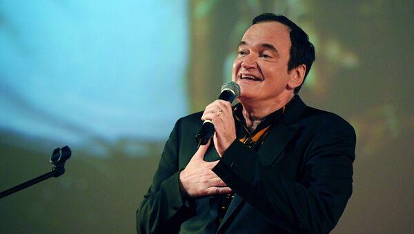 Квентин Тарантино на премьере своего фильма в Москве - Sputnik Армения