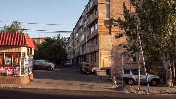 Жилое здание на улице Молдовакан - Sputnik Армения