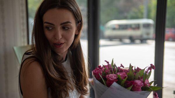 Владелица цветочного магазина Мариам Мартиросян - Sputnik Армения