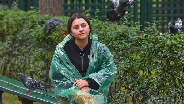 Участница проекта Ты-супер! Сатеник Геворкян в Санкт-Петербурге - Sputnik Армения