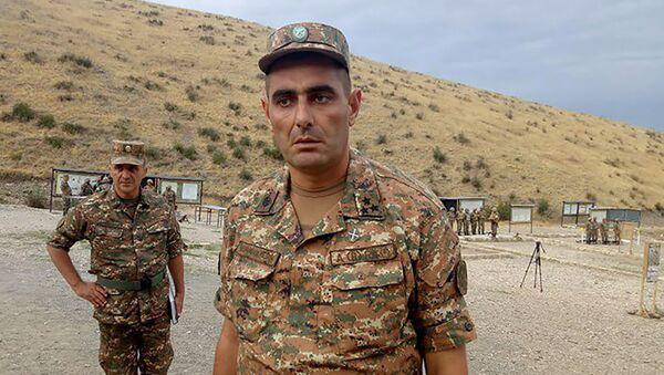 Полковник Армен Гезалян - Sputnik Արմենիա