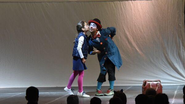 Фестиваль пантомимы в Цахкадзоре - Sputnik Արմենիա