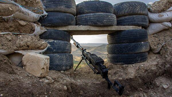 Боевая позиция Армии обороны Карабаха - Sputnik Армения
