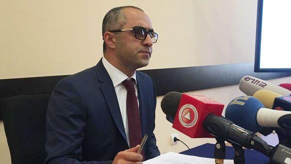Зампредседателя Комитета госдоходов Армении Эдуард Ованнисян - Sputnik Արմենիա
