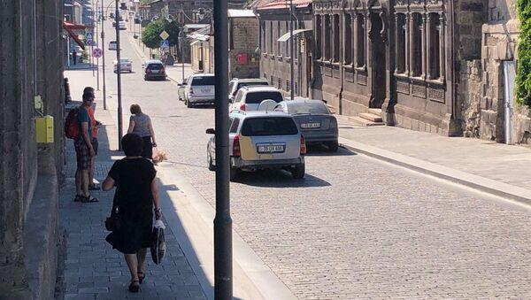 Улица Руставели в Гюмри - Sputnik Армения