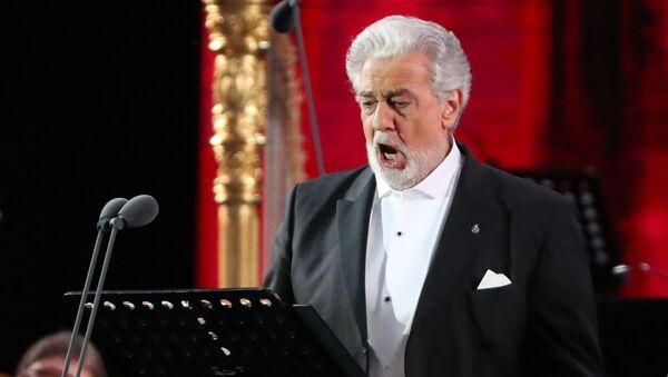 Испанский оперный певец (тенор) Пласидо Доминго - Sputnik Армения