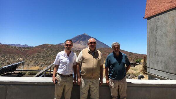 Президент Армении Армен Саркисян посетил обсерваторию Тейде (13 августа 2019). Испания - Sputnik Армения
