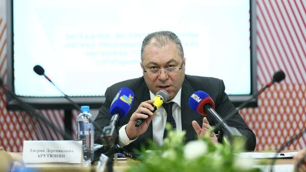 Заместитель директора Департамента промышленной политики ЕЭК Тигран Арутюнян - Sputnik Армения