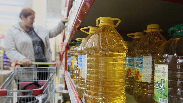 Растительное масло на прилавках  - Sputnik Армения