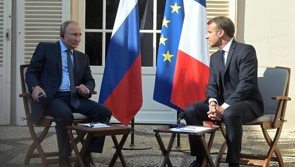 Рабочий визит президента РФ В. Путина во Францию - Sputnik Արմենիա