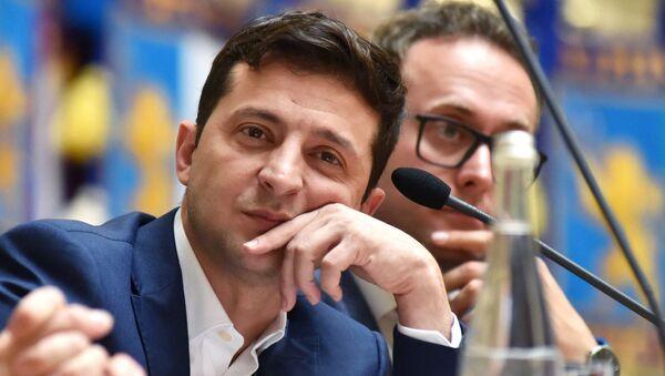 Рабочая поездка президента Украины В. Зеленского во Львов - Sputnik Армения