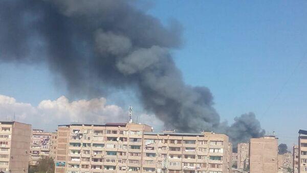 Пожар в Ереване - Sputnik Армения