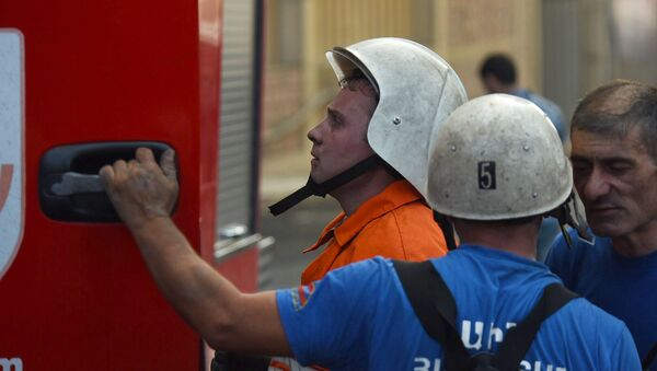 Пожар в Малатия молл (24.08.2019) Еревaн - Sputnik Արմենիա