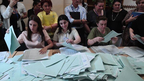 Президентские выборы в Абхазии - Sputnik Армения