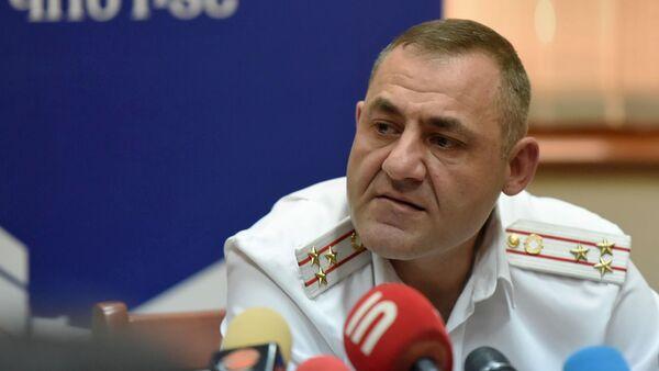 Глава следственной группы по делу Амулсара Юра Иванян на пресс-конференции (26 августа 2019). Еревaн - Sputnik Армения