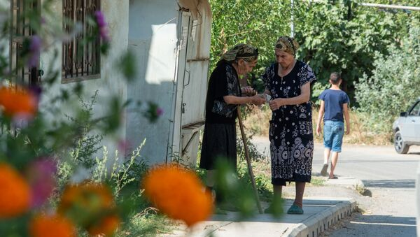 Жители села Чинари Тавушской области - Sputnik Армения